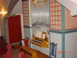 Orgel og organistar på Stemshaug (Til Stemshaug kyrkje sitt