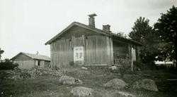 Røykovnstue, Ryen, Grue Finnskog, Grue, Hedmark. Fotografert