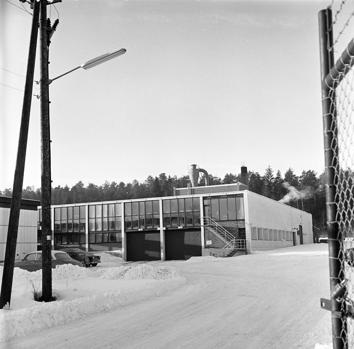 Lørenskog,08.01.1964, industribygg.