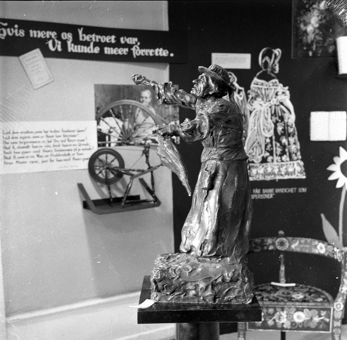 Kvinnesak-utstilling Frogner. Oslo mai 1959