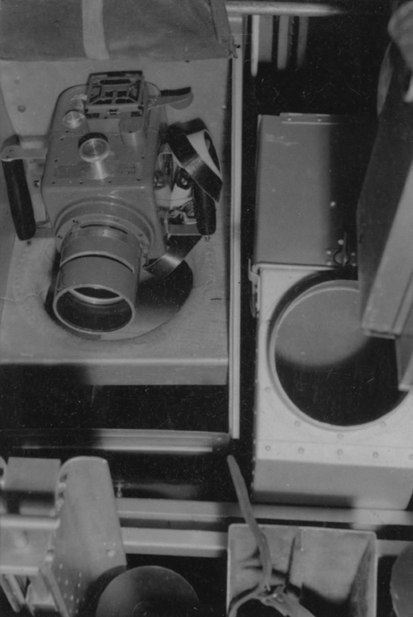 Kameramaterielens placering i flygplan S 12, Heinkel He 114A