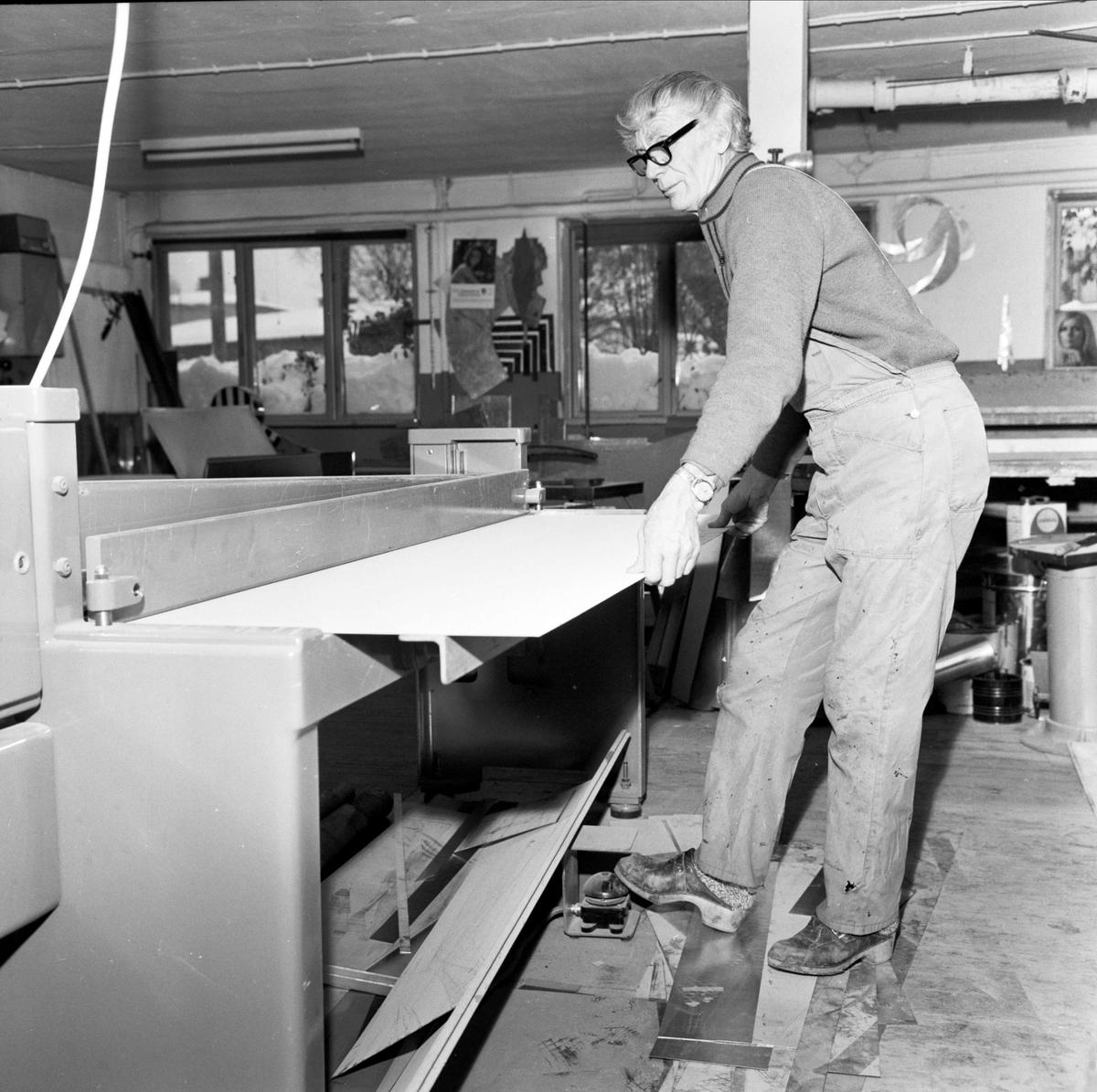 Hägerströms, Örbyhus, Uppland, interiör 1973