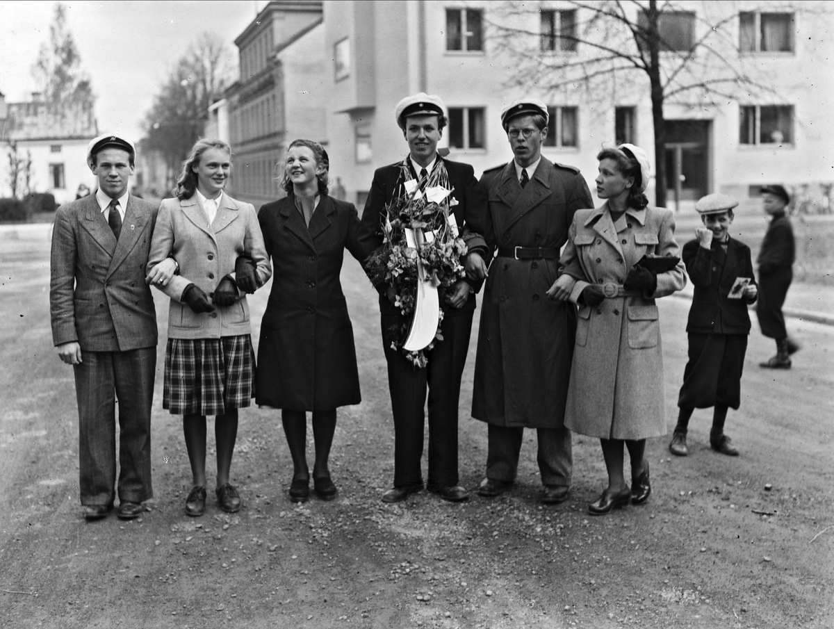 Studentfirande, Uppsala 1944