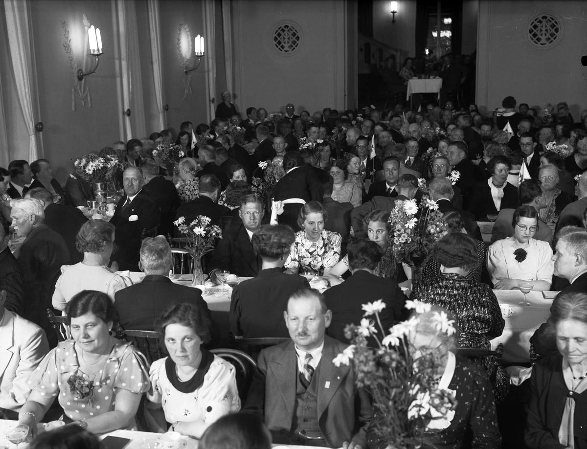 IOGT:s storlogemöte har festmiddag, Uppsala 1937