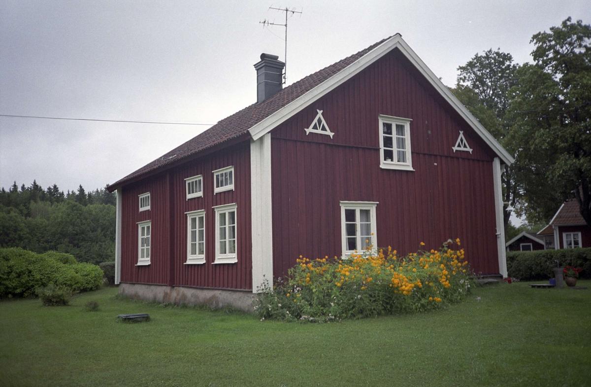 Bostadshus med femdelad plan, Bladåker, Bladåkers socken, Uppland 1995