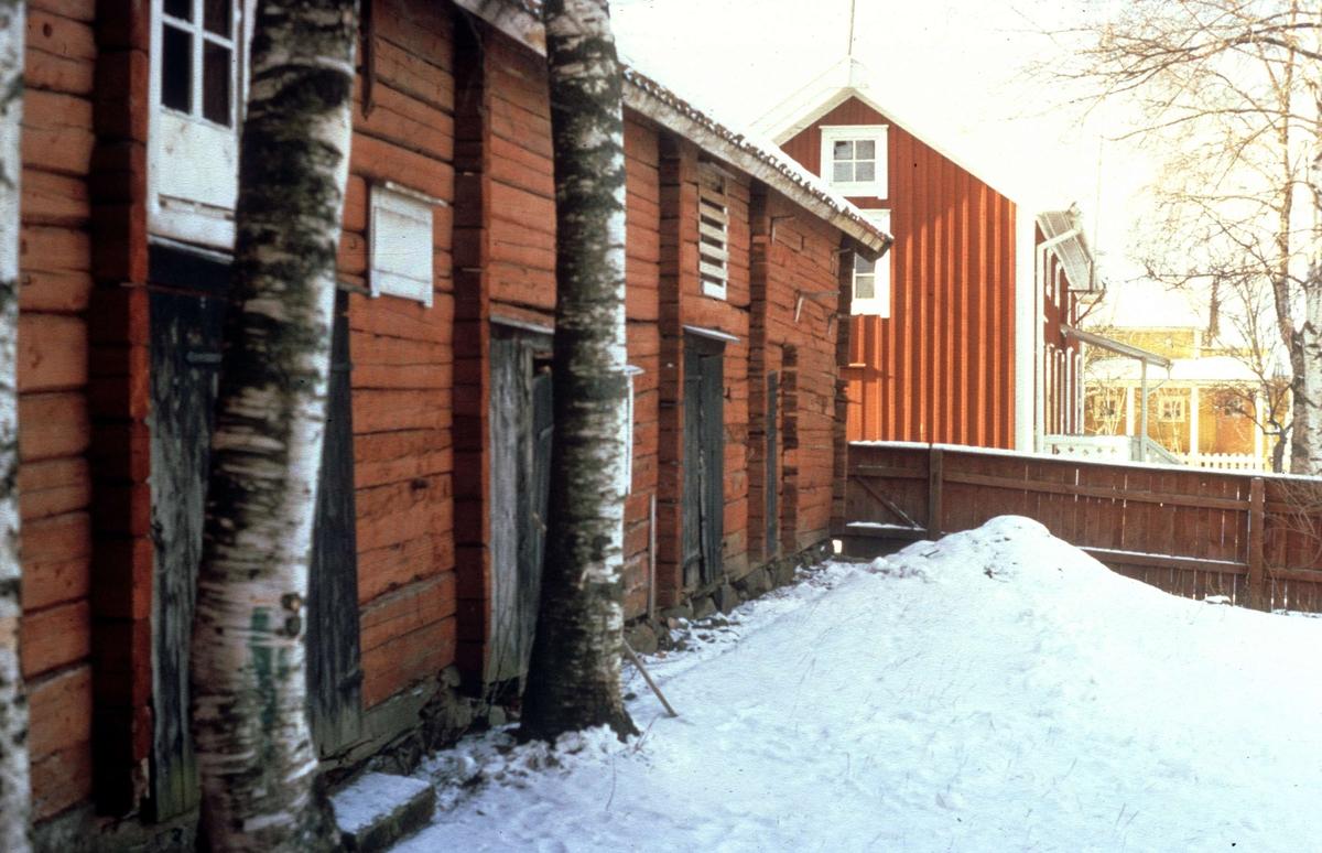 Bostadshus, Telegrafgatan i Öregrund, Uppland 1973