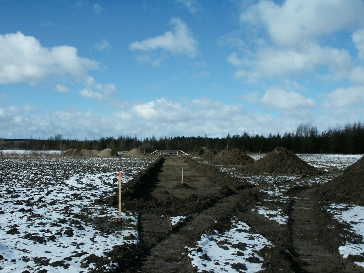 Arkeologisk schaktningsövervakning, Gränby, Vaksala, Uppland 2003