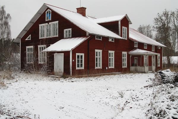 Flygfoto ver Vida grd, Harbo socken, Uppland 1936