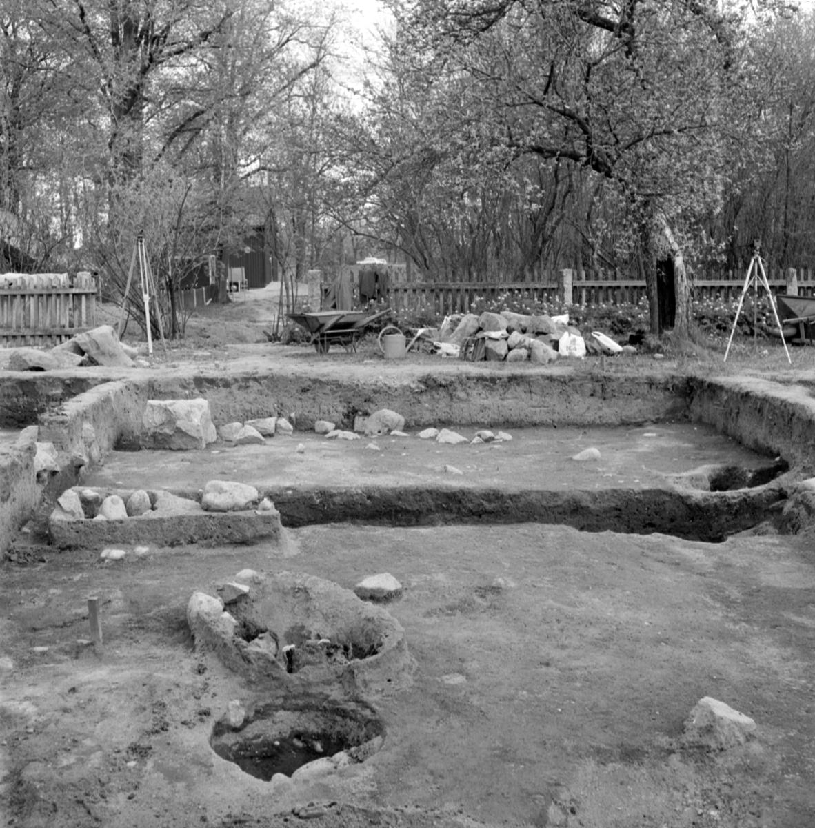 Prästgården, boplats och grav 36 - Arkeologi Gamla Uppsala 1973