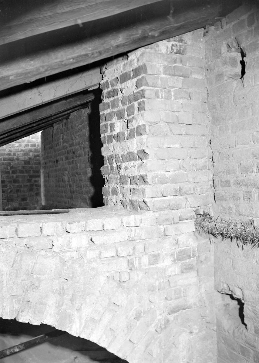 Interiör i Uppsala domkyrka, Uppsala oktober 1941