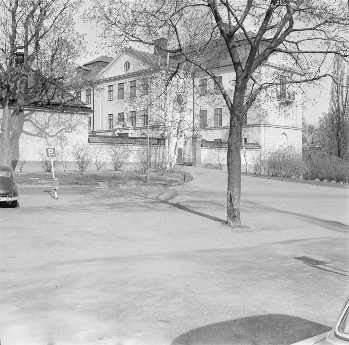 """""""Riddartorget mot Univeristetet"""" - Ärkebiskopsgården i kvarteret Prosten, Fjärdingen, Uppsala"""