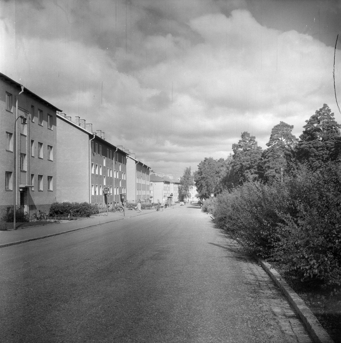Flerbostadshus vid Norbyvägen i Sommarro, Eriksberg, Uppsala