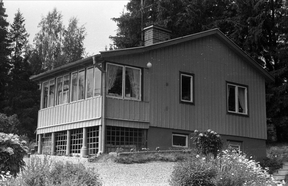 Bostadshus, Gränbytä, Björklinge socken, Uppland 1976