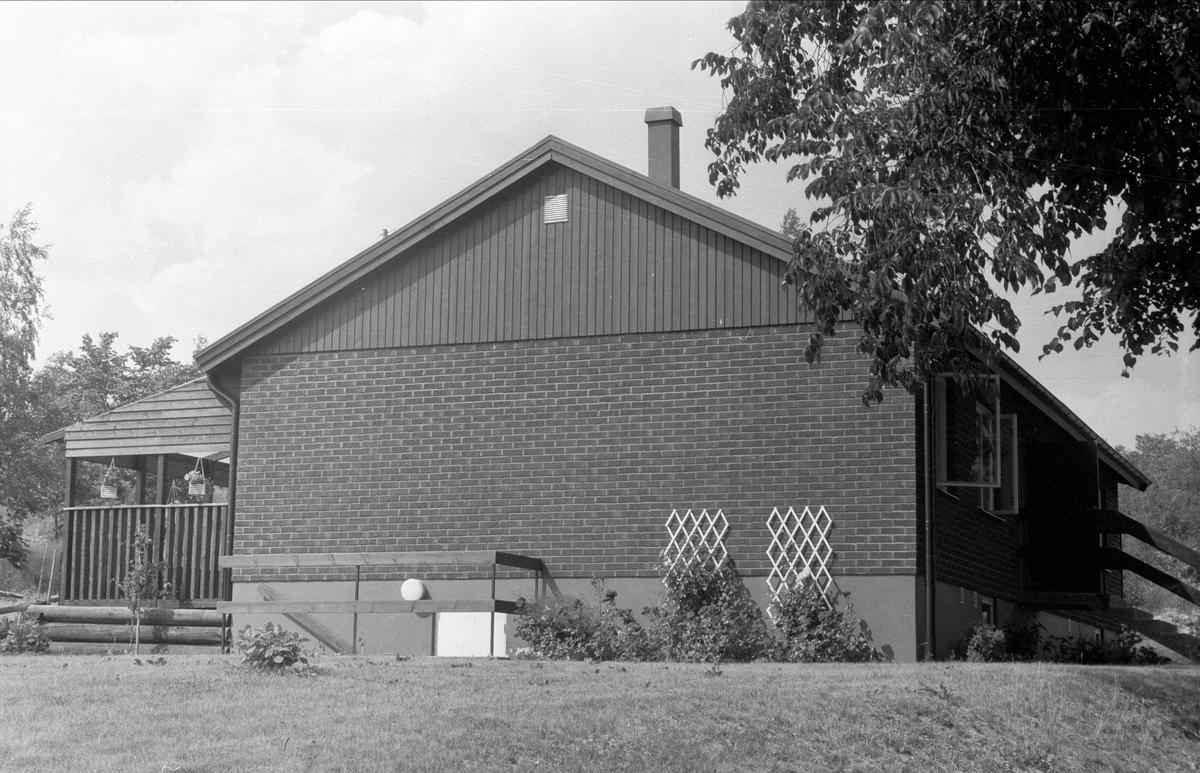 Villa, Högsta 1:6, Bälinge socken, Uppland 1976