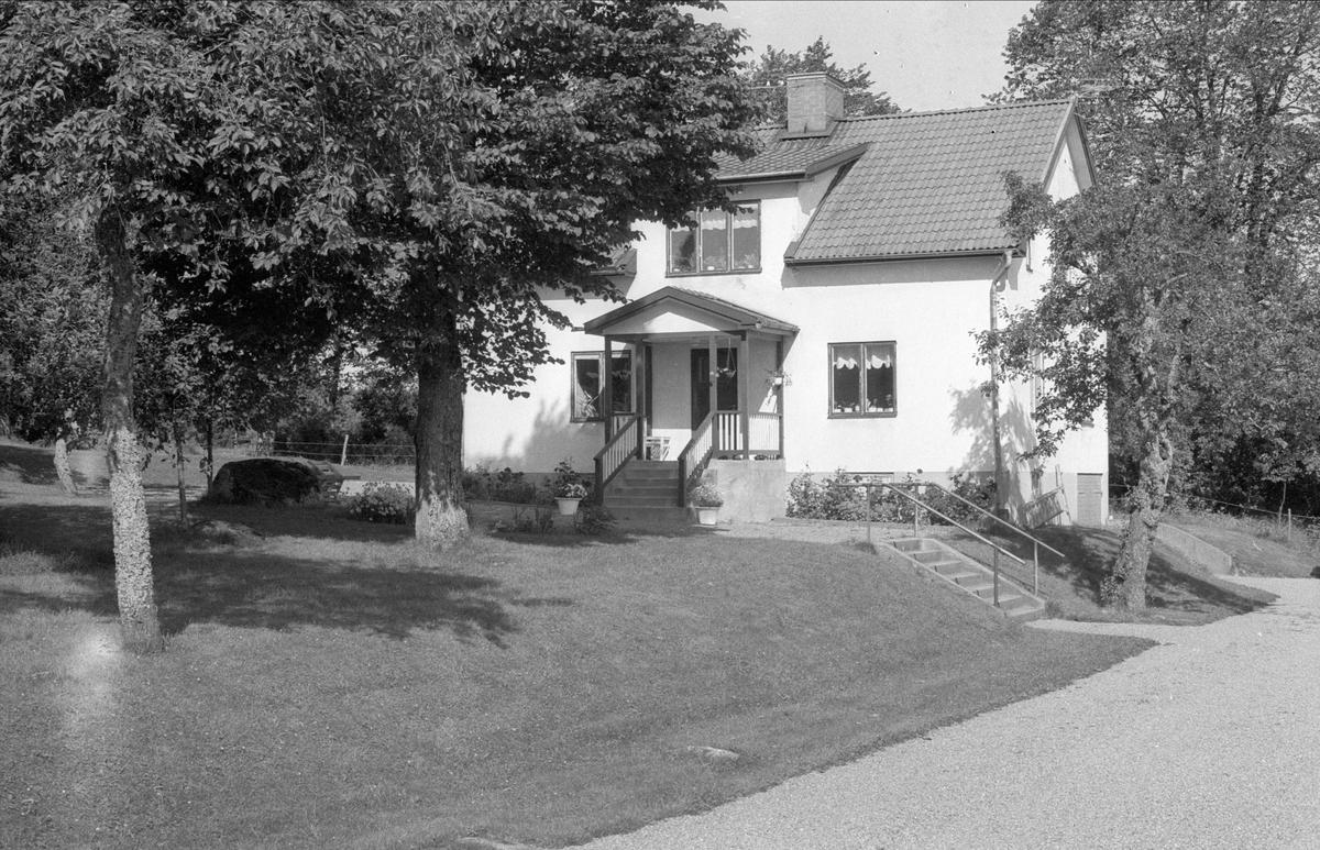 Bostadshus, Ekeby 1:1, Börje socken, Uppland 1983
