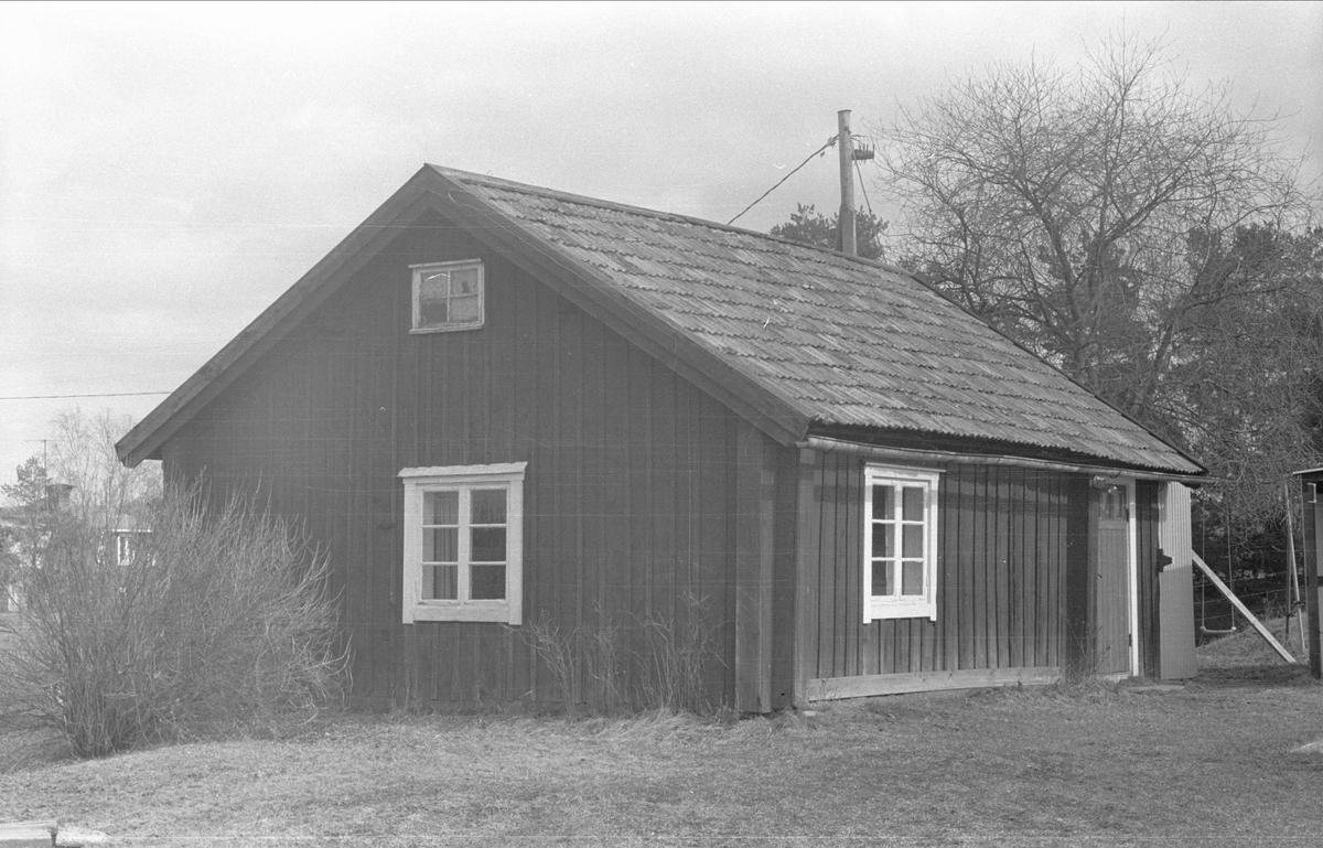 Stuga, Östaåsen, Ärentuna socken, Uppland 1977