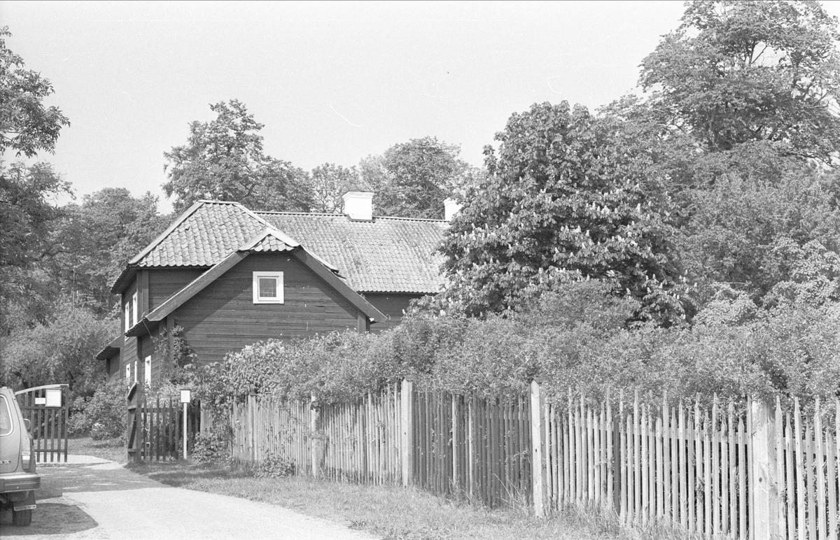 Flygelbyggnad, Hammarby 5:1, Linnés Hammarby, Danmarks socken, Uppland 1977