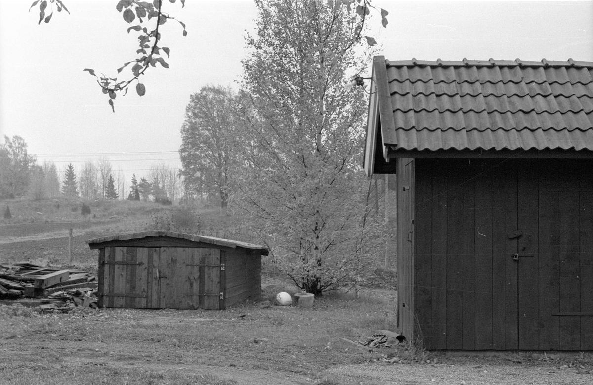 Uthus/garage, Fullerö 16:5, Gamla Uppsala socken, Uppland 1978