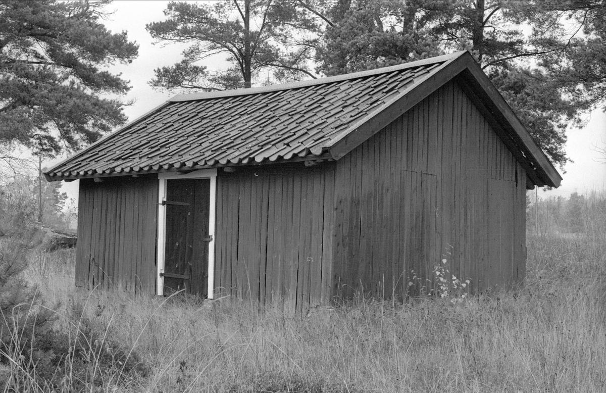 Bod, Stengärde, Fullerö, Gamla Uppsala socken, Uppland 1978