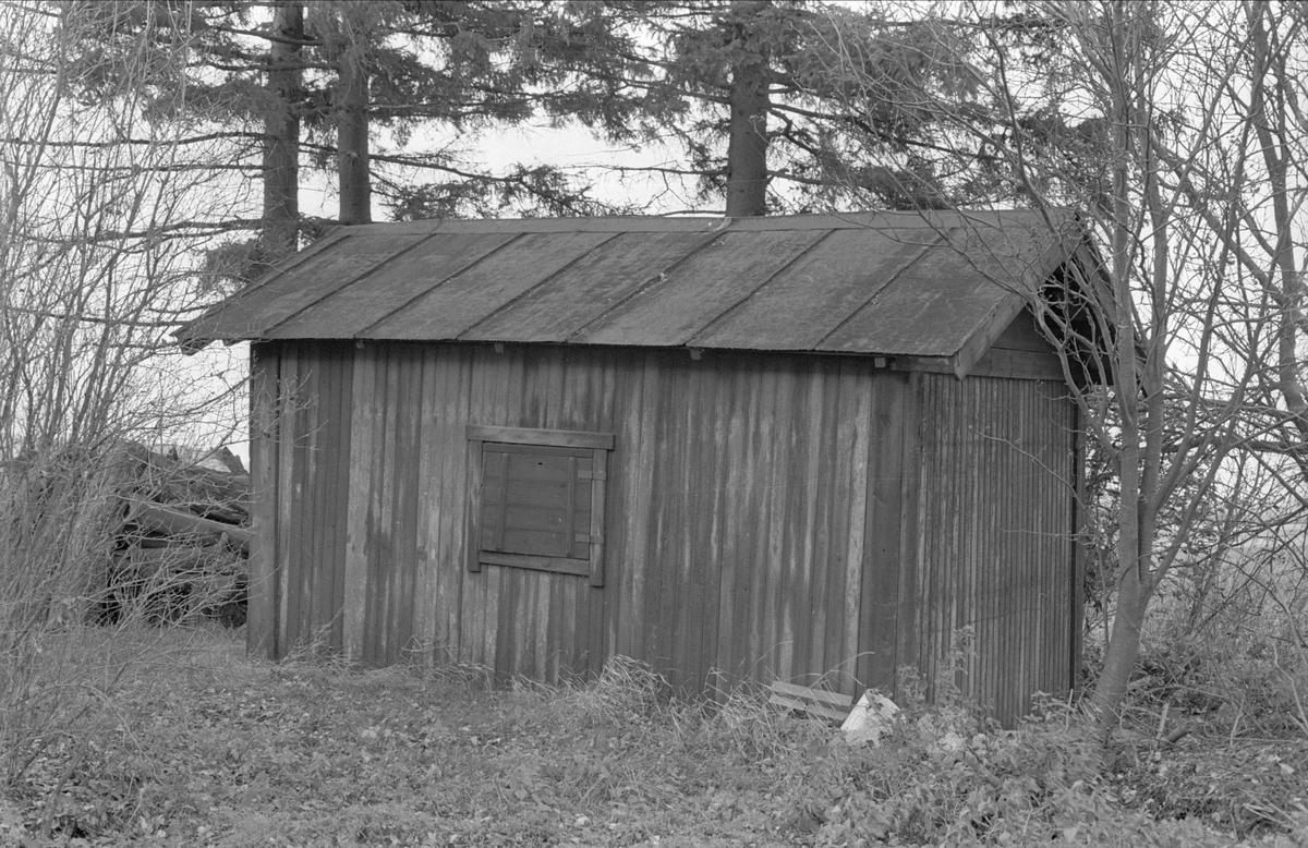 Uthus, Ånbo Faxan, Fullerö 18:1, Faxan, Gamla Uppsala socken, Uppland 1978