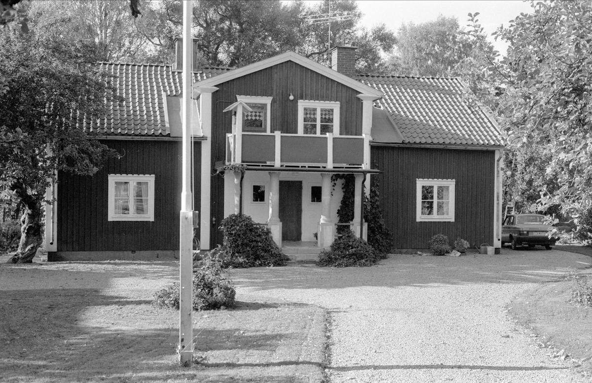 Bostadshus, Ramsjö 4:1, Björklinge socken, Uppland 1982