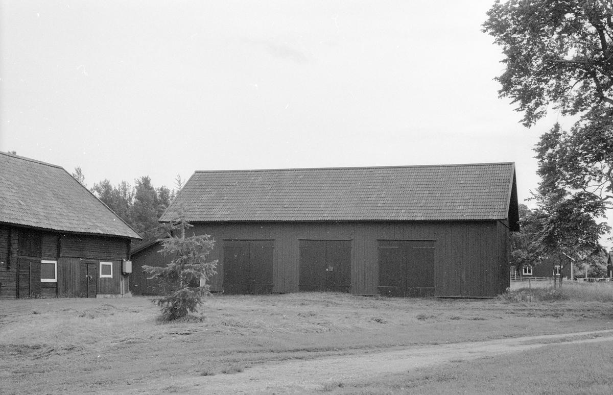Redskapslider, Norrgården, Sotter, Knutby socken, Uppland 1987