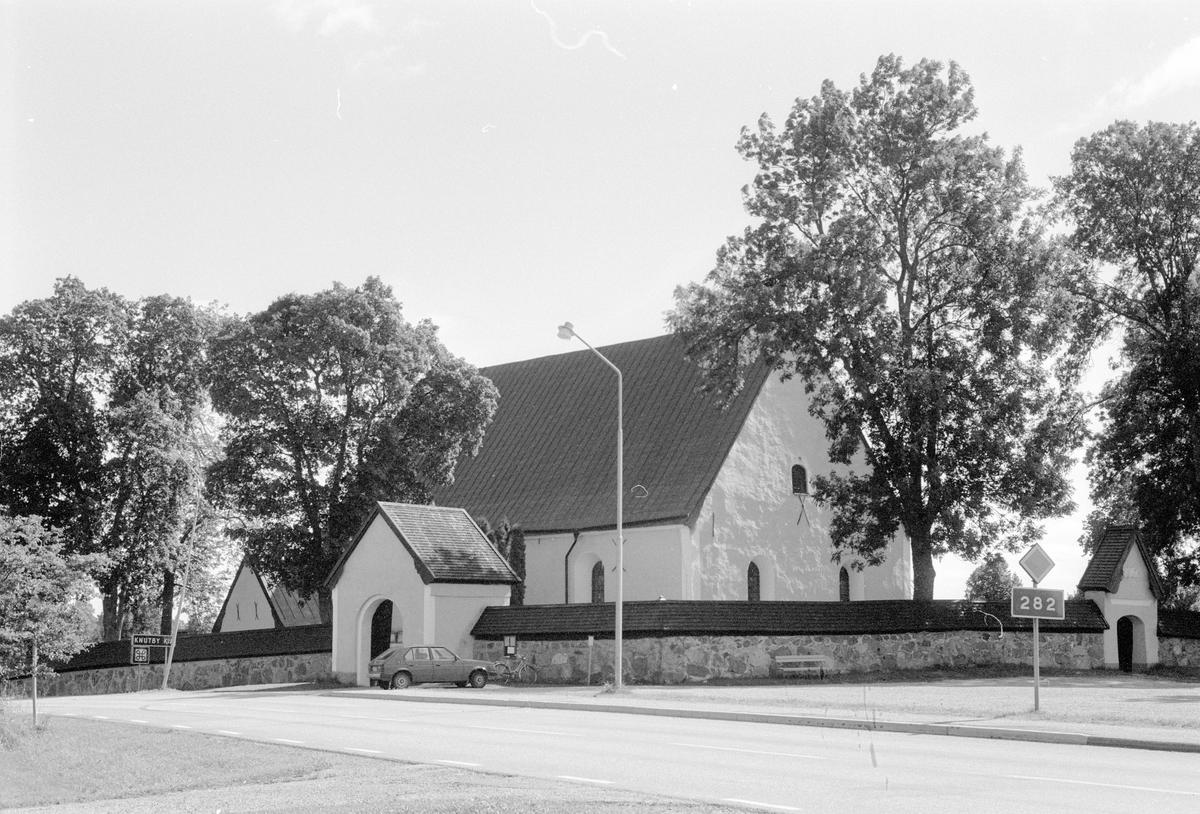 Knutby kyrka, Knutby, Knutby socken, Uppland 1987