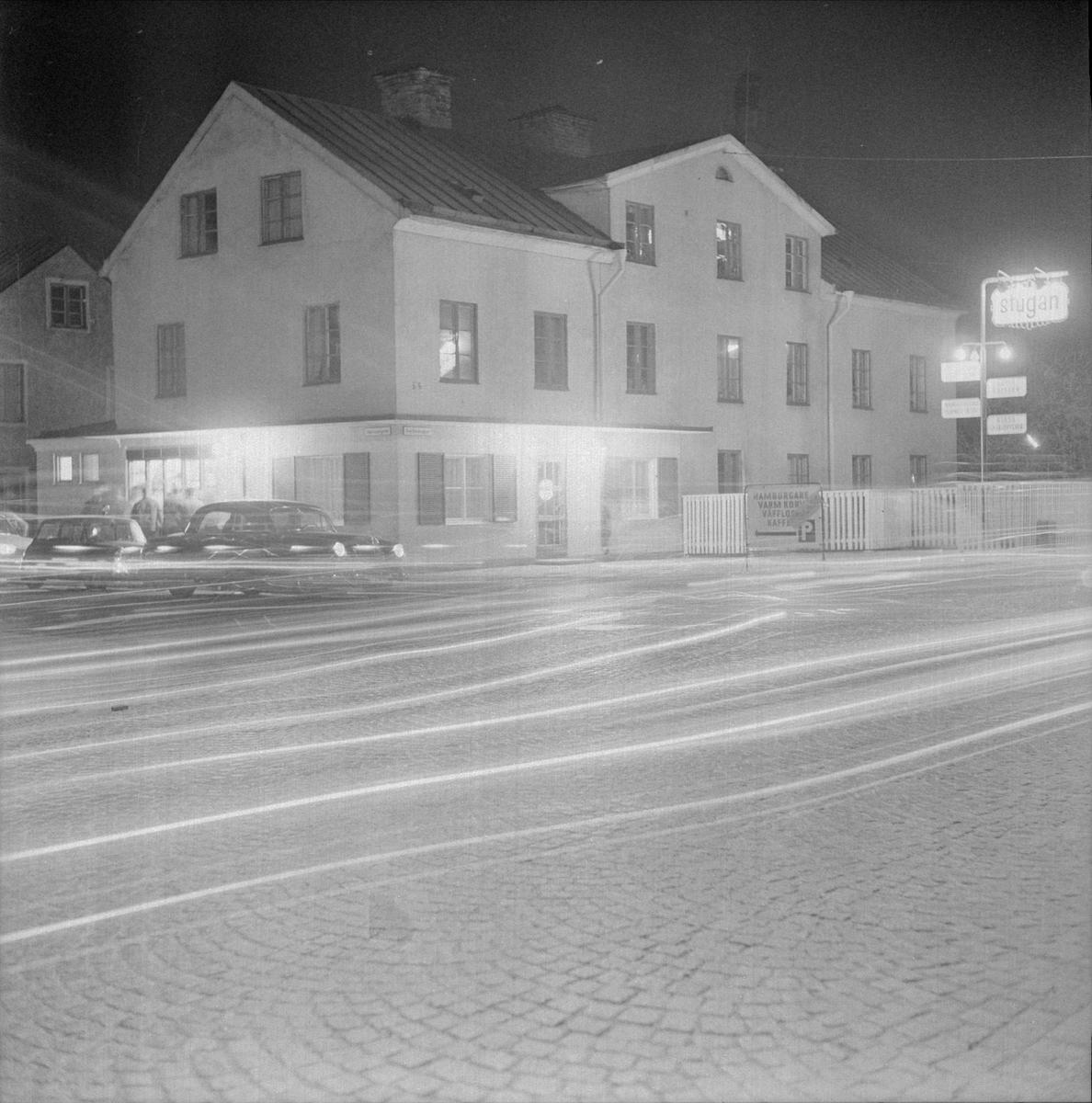 """""""Stritan"""" - Svartbäcksgatan på kvällen"""