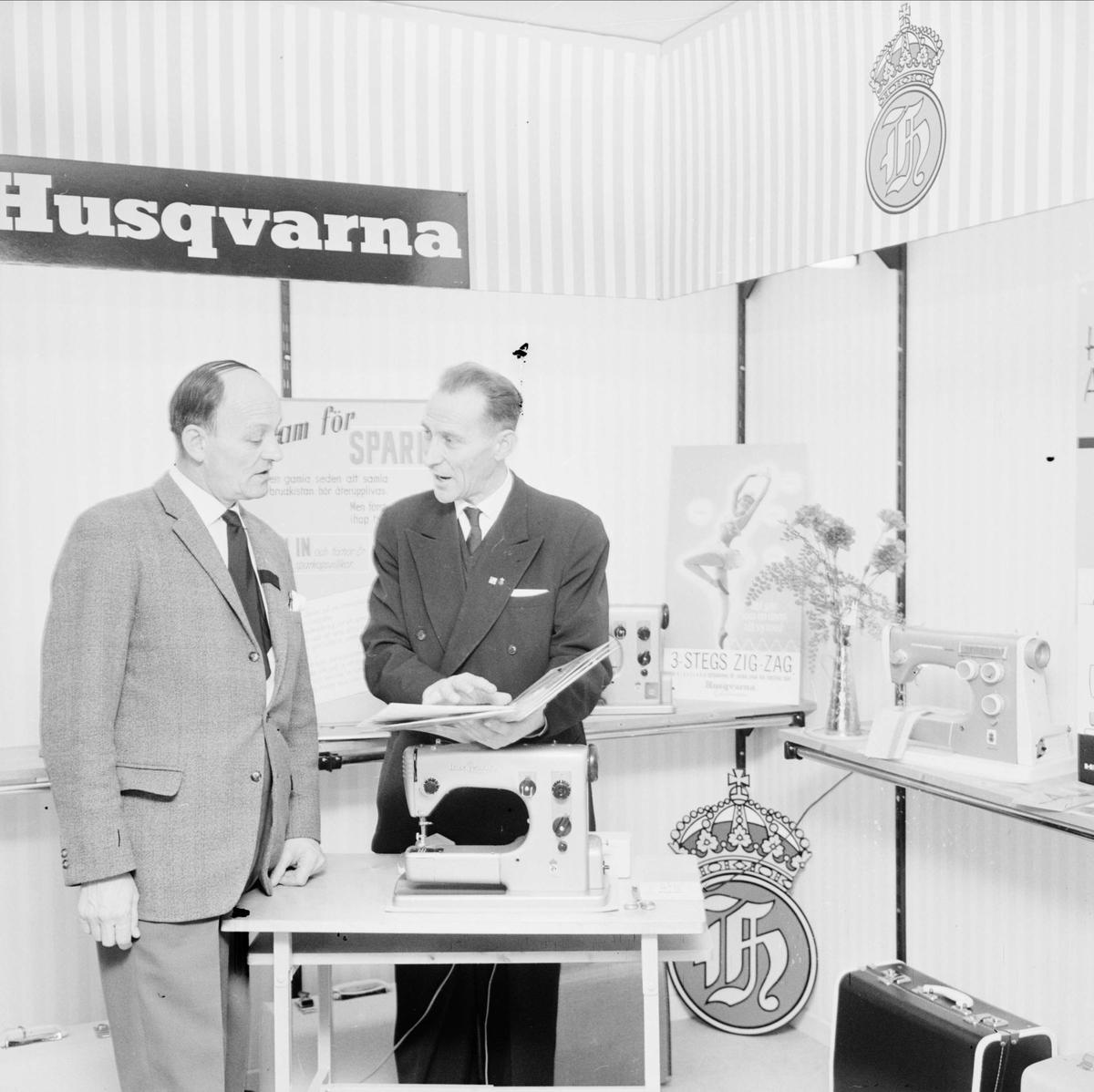 """""""Husqvarna - ny butik för hemapparater"""" - Uppsala, februari 1962"""