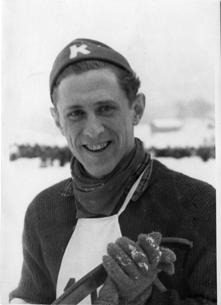 Petter Hugsted fra Kongsberg Skiforening. Petter Hugsted from KIF.
