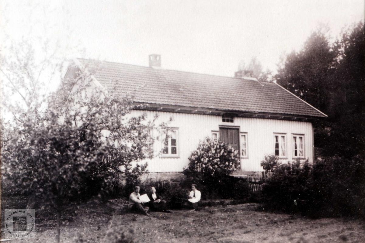Garden Smevollen, Ubostad i Grindheim.