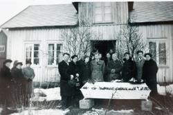 Gravferda til Ingeborg Førland født Ågedal, Øvre Ågedal i Grindheim, senere Audedal.