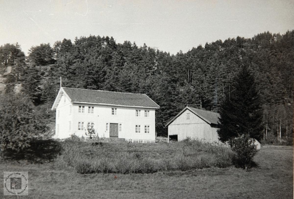 Langeneset, Konsmo Audnedal.