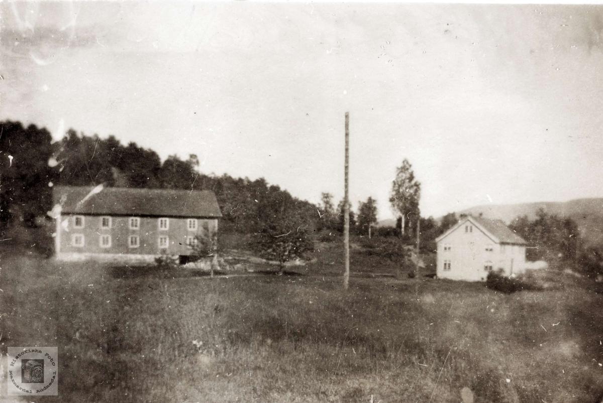"""Gården """"Monen"""" på Øvre Øydna. Grindheim Audnedal."""
