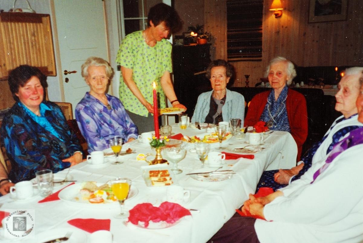 85 årsselskap for Sigrid Røynesdal. Audnedal.