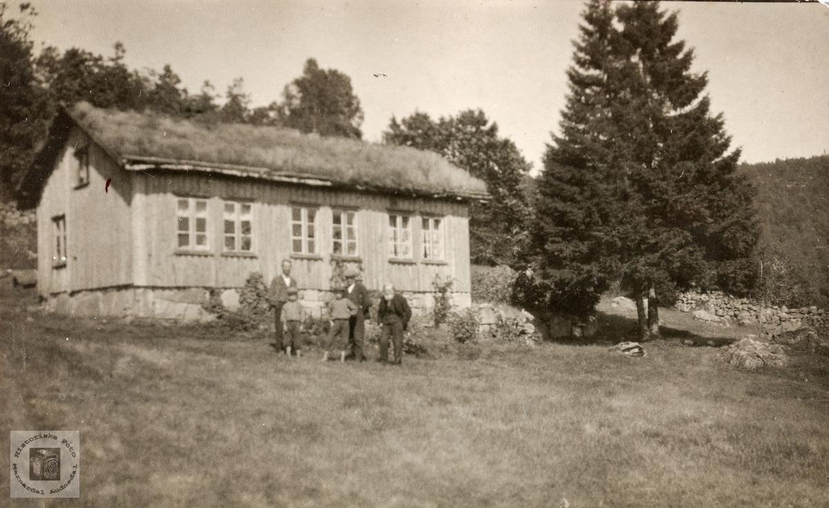 Garden Hampen på Barstad. Konsmo Audnedal.