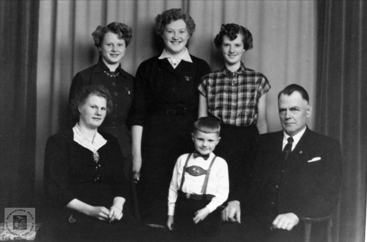 Familiebilde Usland, Øyslebø.