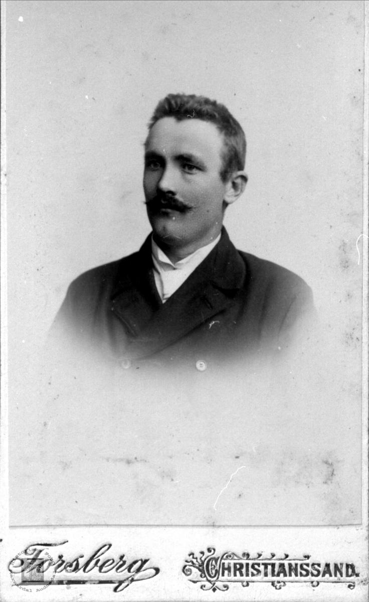 Portrett av Gunnar Koland, Bjelland.