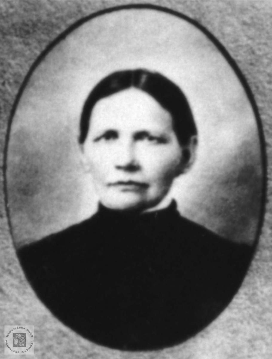 Portrett av Tarjar Koland, Bjelland.