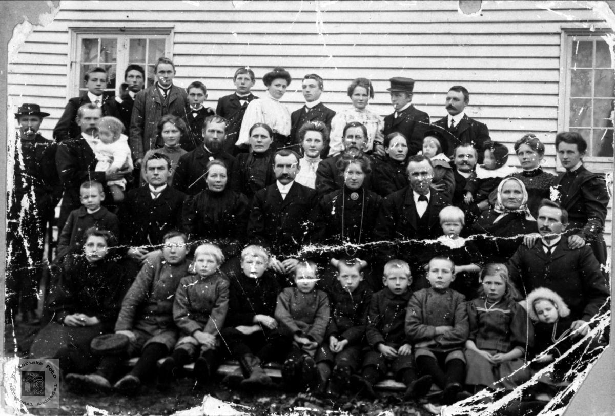 Kristine og Olav Wigemyrs bryllup, Øyslebø.