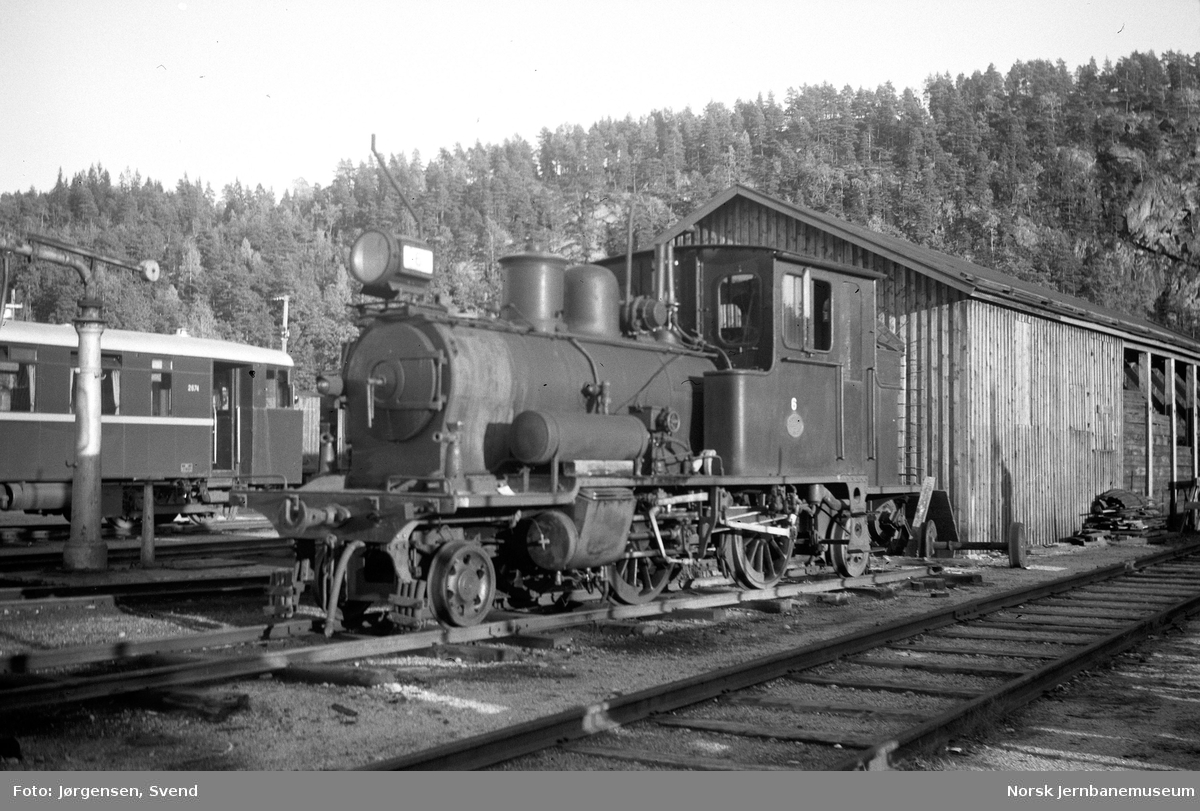 Setesdalsbanens damplokomotiv nr. 6