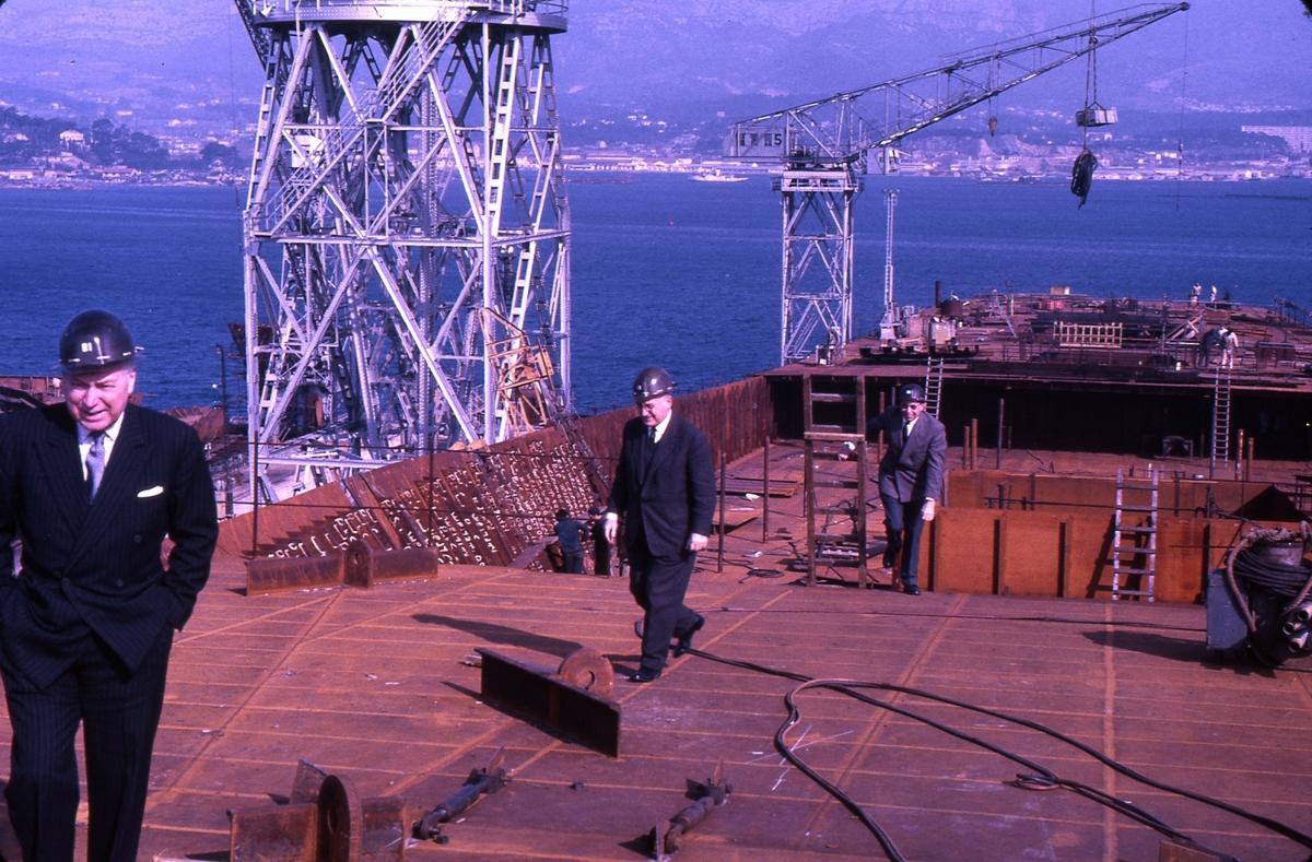 M/S 'Sagafjord'(b.1965, Societé des Forges de la Méditerranée, La Seyne sur Mer).