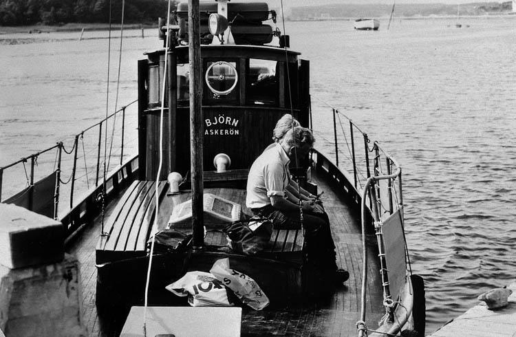 Passagerar och taxibåten björn, Stenungsund