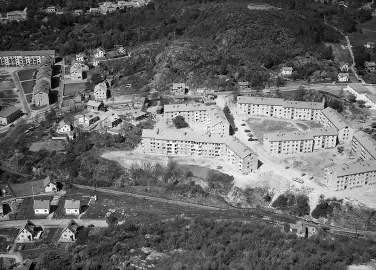 Stadsdelen Bleket, Uddevalla 1955