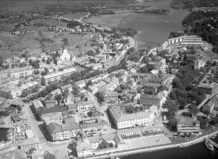 """Enligt AB Flygtrafik Bengtsfors: """"Strömstad Bohuslän""""."""