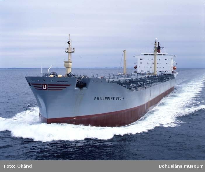 M/S Philippine Obo 4 D.W.T. 54.500 Rederi Phil. Transmarine Carriers, Manilla Kölsträckning 83-12-19 Nr. 330 Leverans 84-09-06 Obofartyg