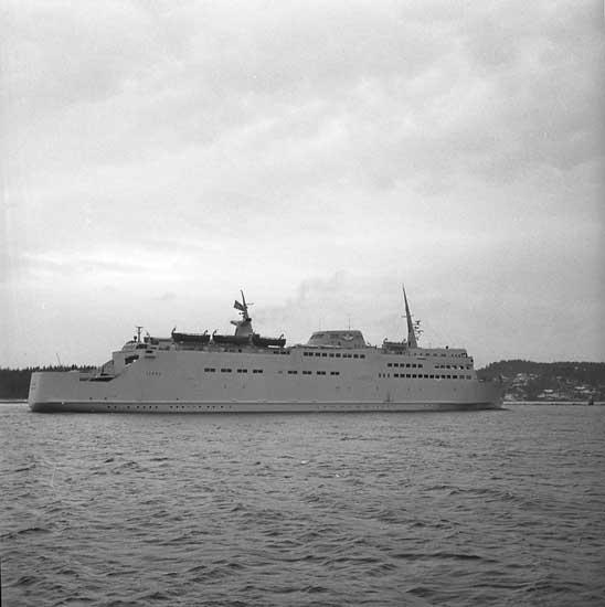Färjan 275 M/F Skåne vid Sunningen.