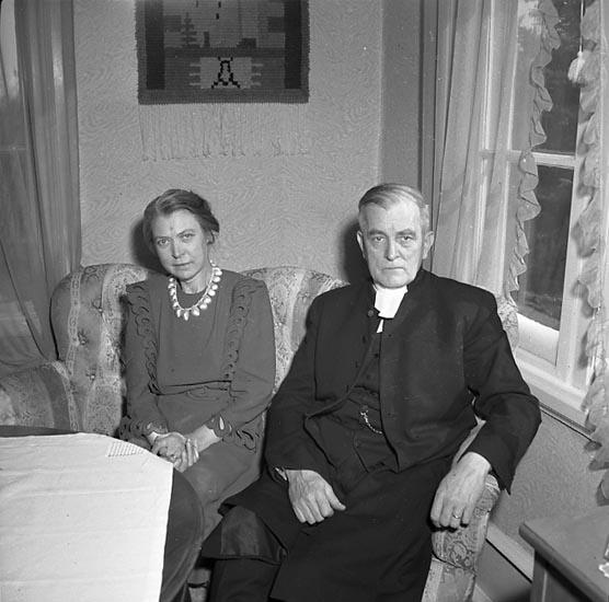 Kyrkoherde Carl Norborg, Munkedal 1947
