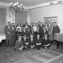 Jubileum 1955 vid Uddevalla Högre Allmäna Läroverk