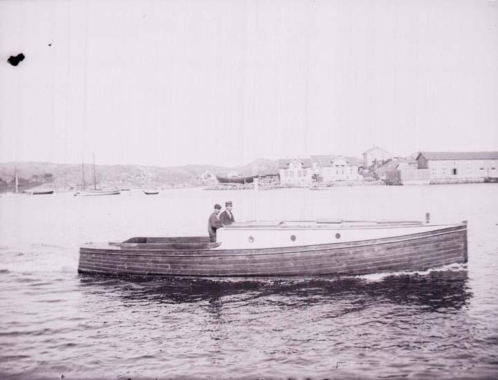 Marstrands hamn.